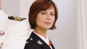 Catherine Bell Joins 'JAG' Reunion