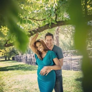 Zain Asher and her husband Steve Peoples
